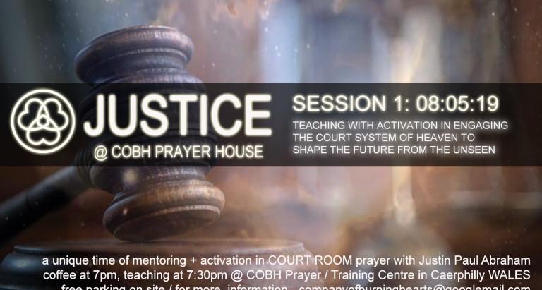 Court Room Training @ COBH Prayer House