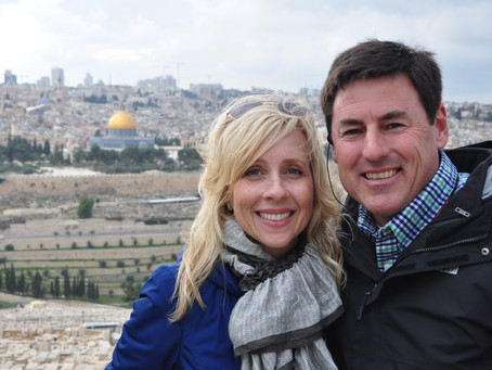 Sharing the Holy Land & Planting Seeds