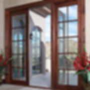 Exterior Cladwood Doors Dealer Panama City
