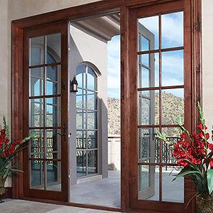 Exterior Cladwood Doors Dealer Panama City