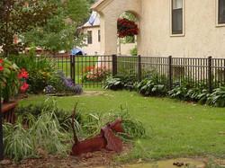 metal fences residential