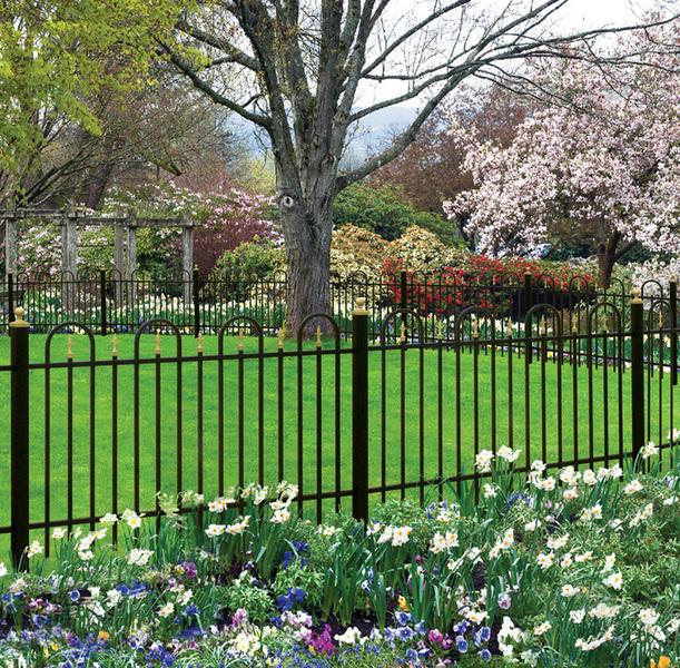 ornamental fence designs
