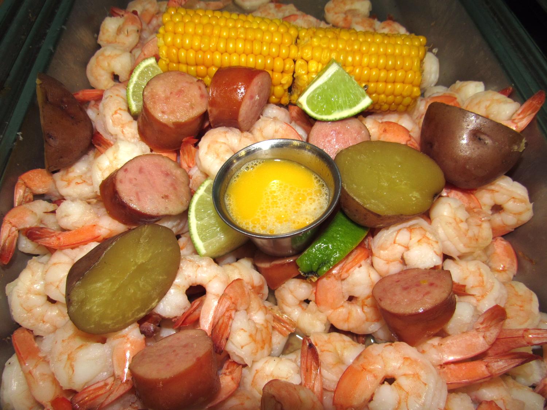 Delicious Shrimp Platter