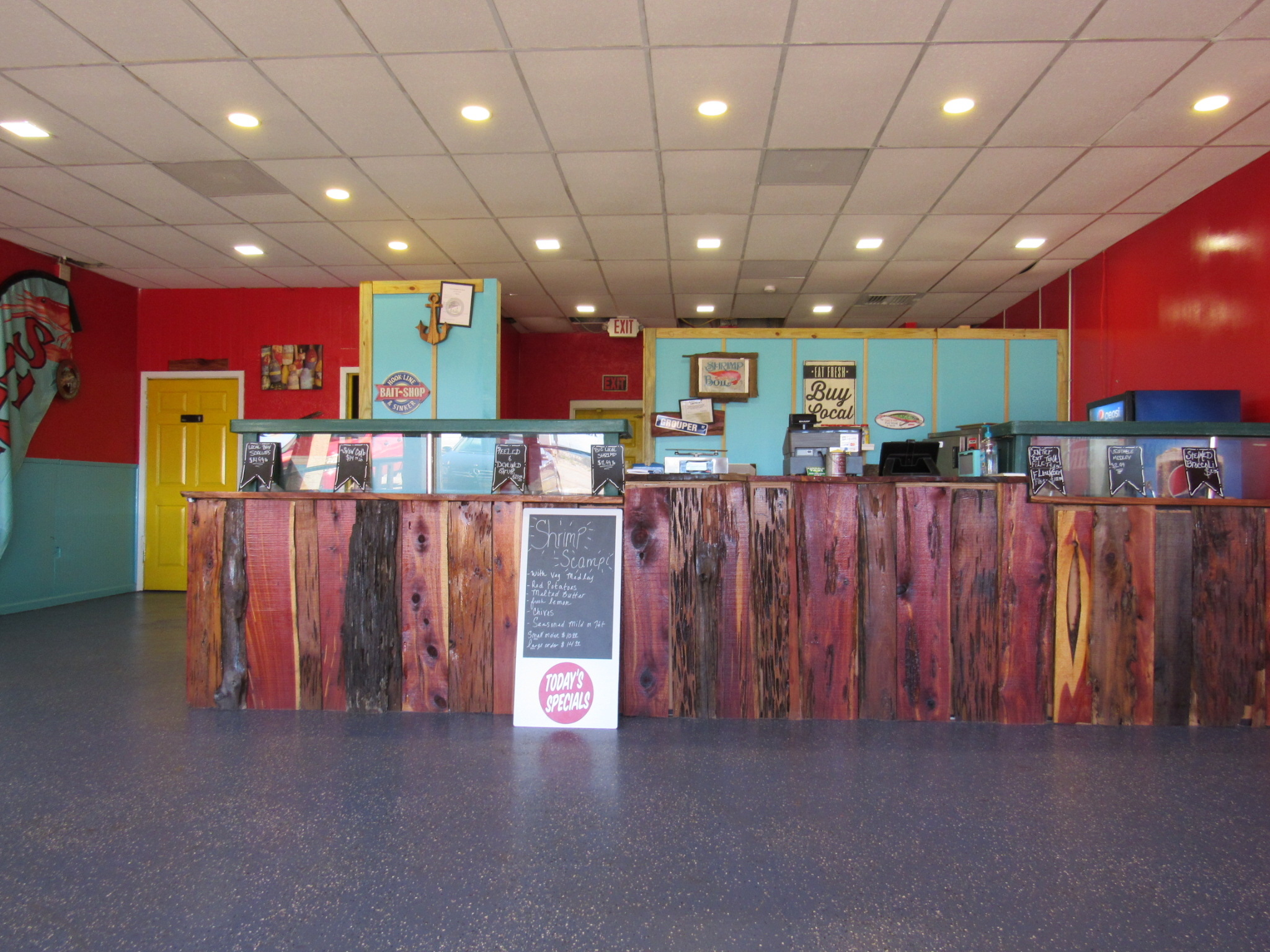 Front of the Counter