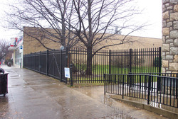 ornamental aluminum fences
