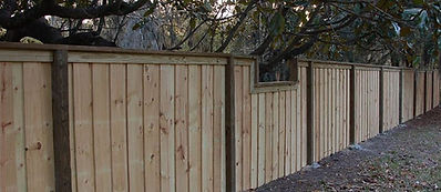 Custom Wood Fence Panama City