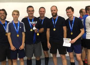 Parent and Teachers' Futsal Success!