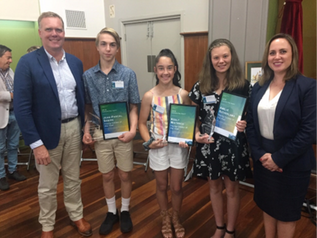 Congratulations to our Yarra Valley Young Citizens of the Year 2019