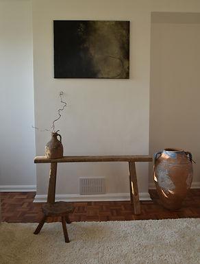~Irmak~ antique twin-handled olive pot
