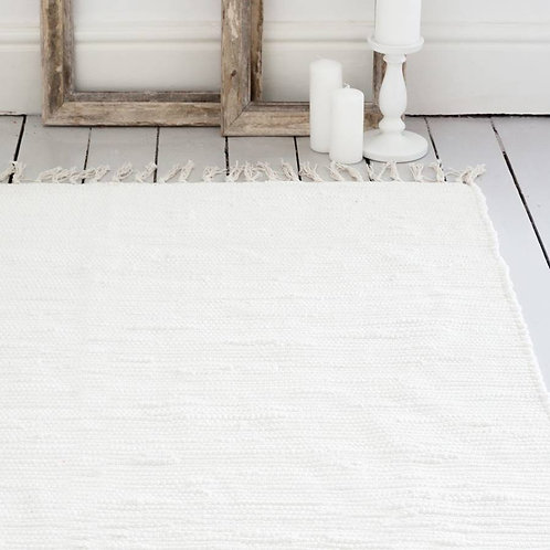 airá ivory handwoven cotton rug
