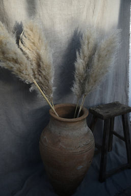 antique Turkish olive pot