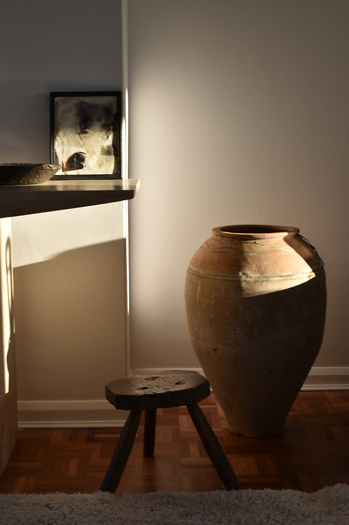 ~Tutku~ antique terracotta pot