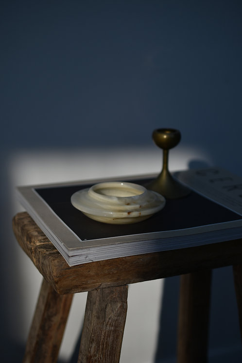 vintage onyx bowl