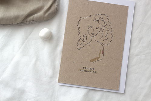 greeting card | women empowerment