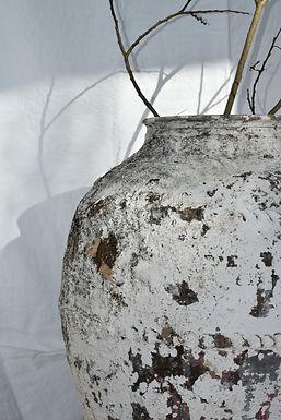 antique Turkish terracotta olive pot   Arsuz