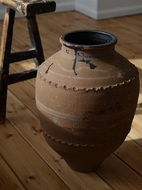 ~Melisa~ antique decorative olive pot