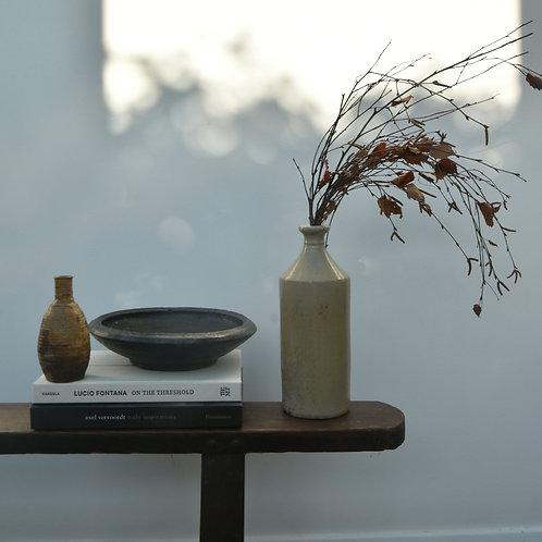vintage Japanese clay pot