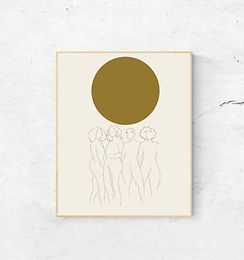art print   we are the sun