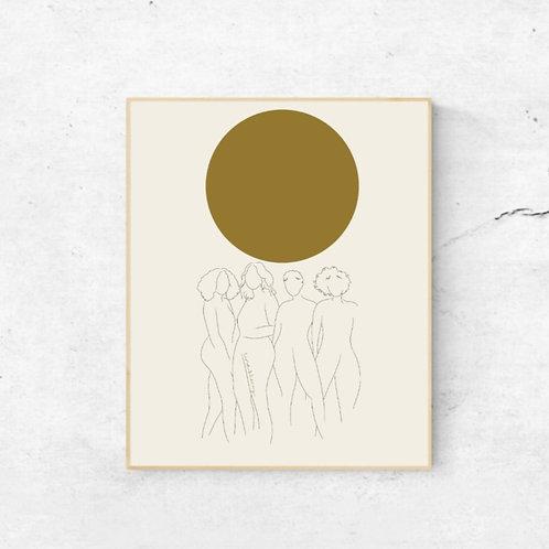 art print | we are the sun