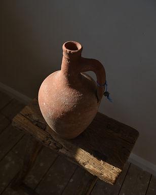 ~Eslem~ antique terracotta pitcher