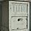 Thumbnail: original French white cabinet