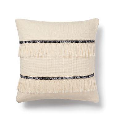 handwoven bohem cushion