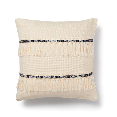 handwoven bohem cushion