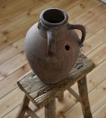 ~Emine~ antique round-bellied urn