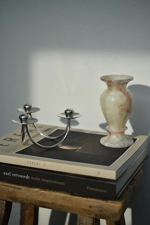 vintage onyx vase