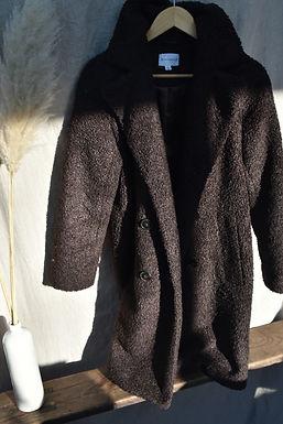 dark brown Teddy Bear coat   size small
