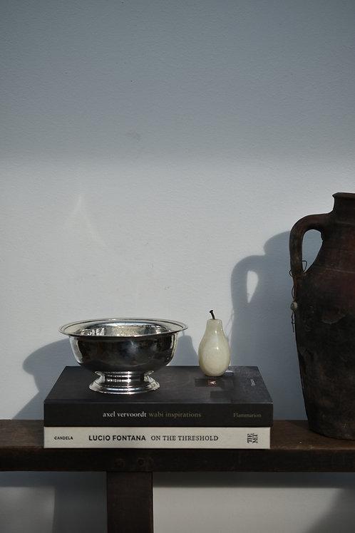 vintage silver trinket coffee table bowl