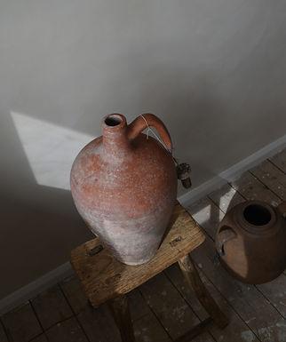 ~Miray~ large terracotta pitcher pot vase