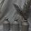 Thumbnail: vintage cream stoneware bottles