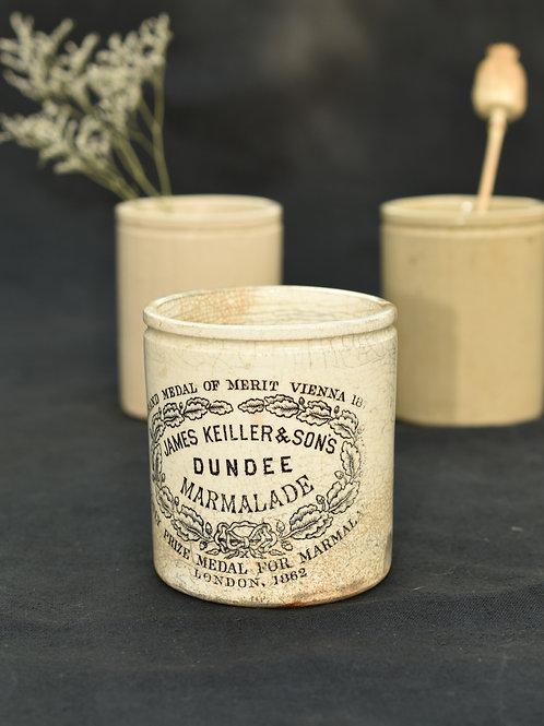 vintage Dundee marmalade pot