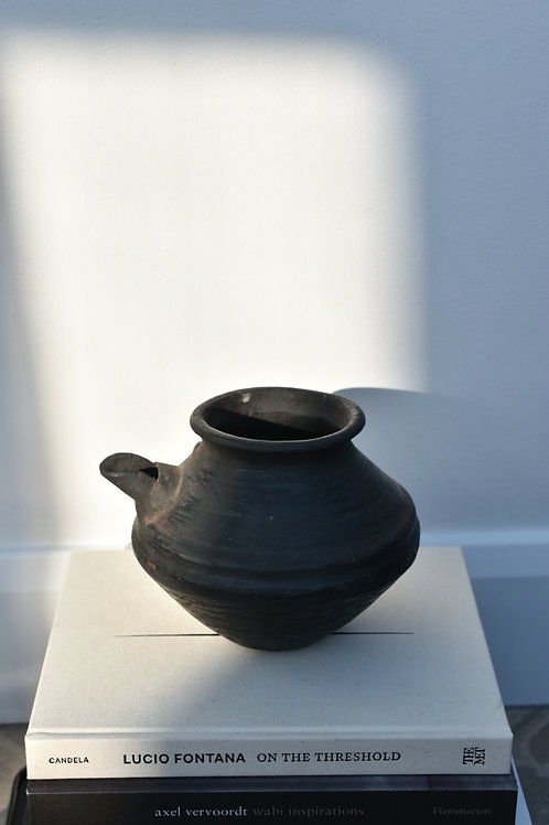 vintage Nepalese clay pot