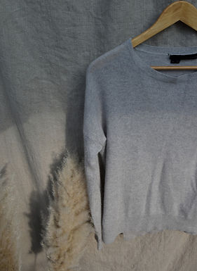 vintage grey Cashmere Company jumper   size small