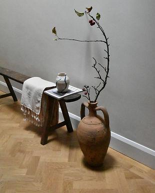 antique two-handle terracotta pot   Mudanya