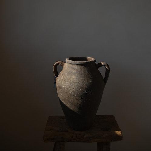 ~Ela~ antique terracotta twin-handled pot