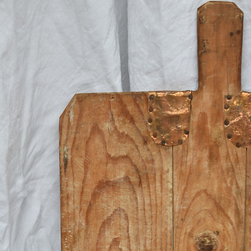 antique primitive wooden board