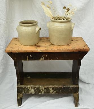 vintage carpenter's bench