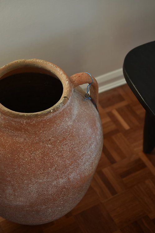 ~Evren~ Antique olive pot urn