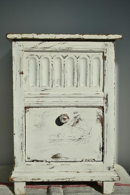 original French white cabinet