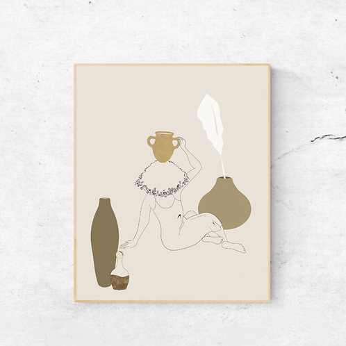 art print | at peace with it
