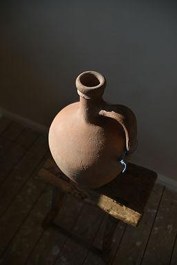 ~Beren~ antique terracotta pitcher