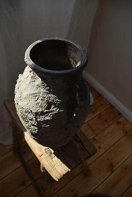 ~Zümra~ antique twin-handled pot