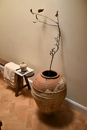 antique Turkish terracotta olive pot | Amasya