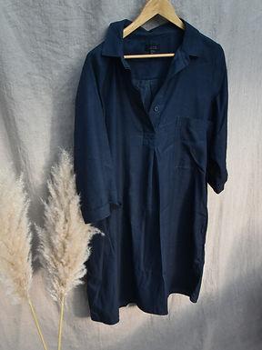 preloved Cos 100% cotton shirt dress | size 8-14
