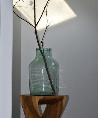 vintage Hungarian glass vase