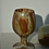 Thumbnail: set of four vintage onyx goblets | wine glasses