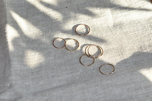 9ct sustainable rings